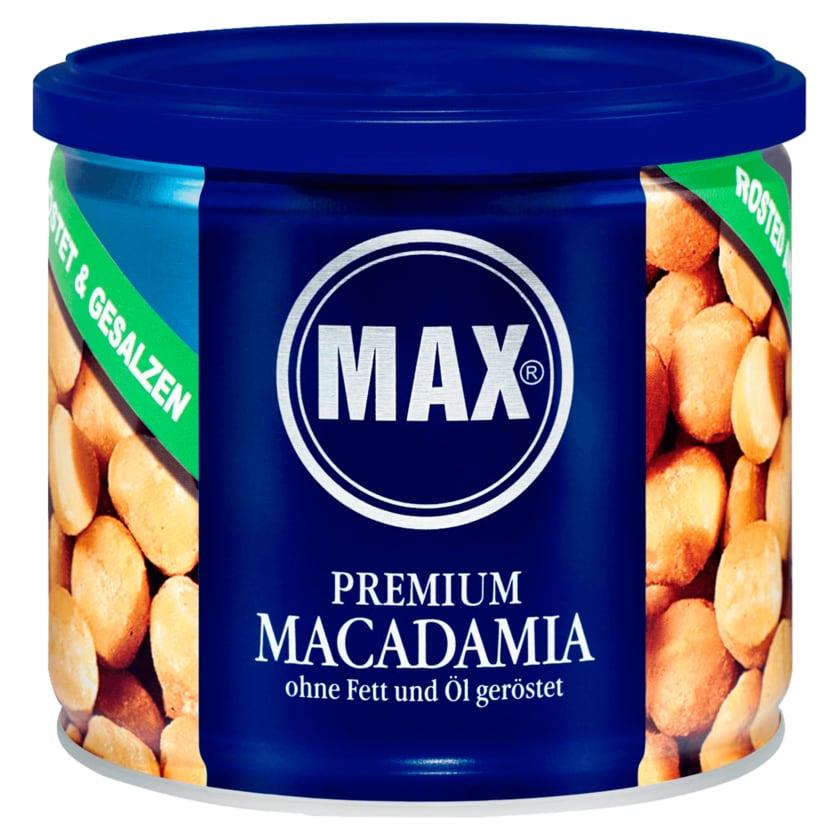 Max Premium Macadamia ohne Fett & Öl geröstet 150g