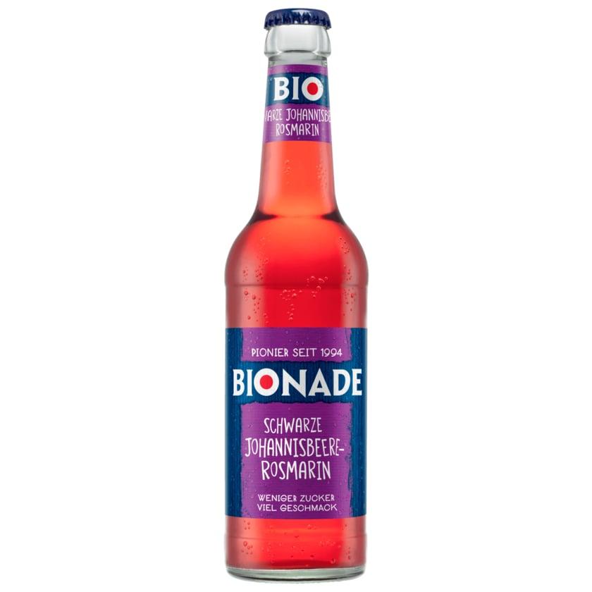 Bionade Schwarze Johanisbeere-Rosmarin 0,33l