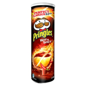 Pringles Hot & Spicy 190g