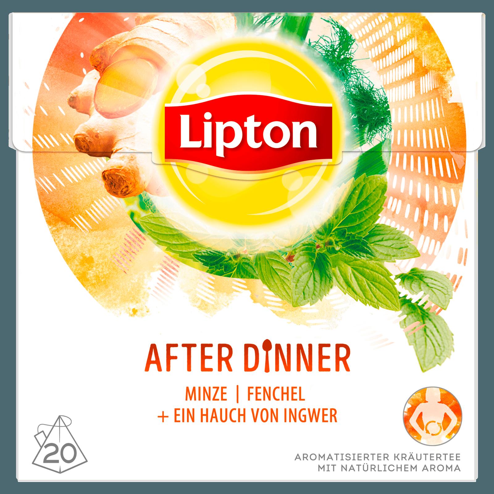 Lipton Kräutertee After Dinner Pyramidenbeutel 30g, 20 Stück