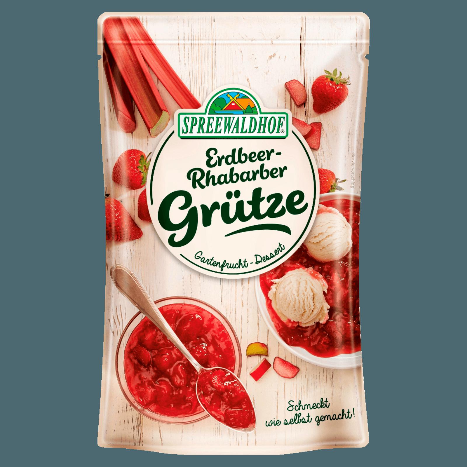 Spreewaldhof Rote Grütze Gartenfrucht 350g