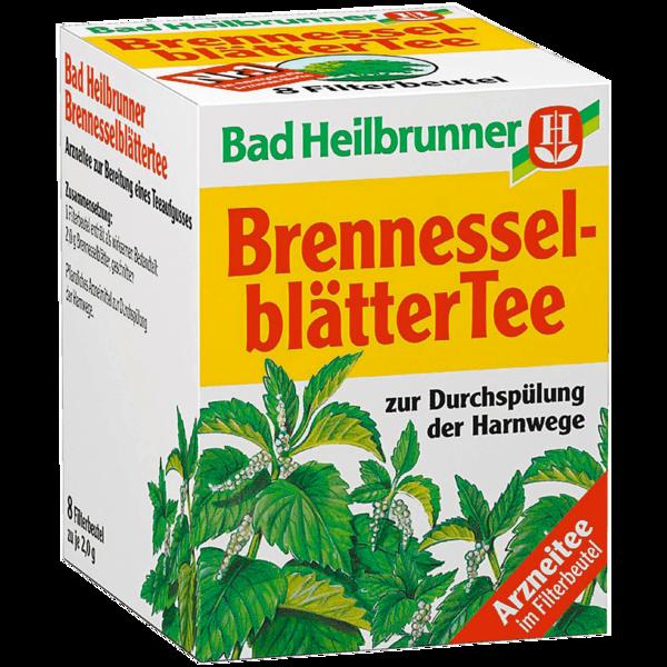 Bad Heilbrunner Brennesselblättertee 8x2,0g