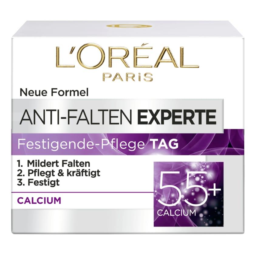 L'Oréal Paris Anti-Falten Experte Feuchtigkeitspflege Nacht 55+ Calcium 50ml
