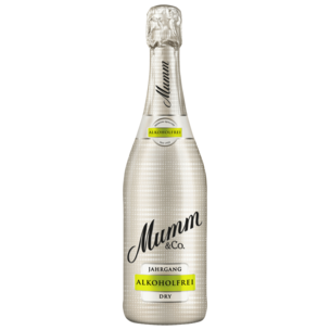 Mumm & Co. Jahrgang trocken alkoholfrei 0,75l