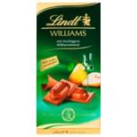 Lindt Schokolade Williams mit Williamsbrand 100g