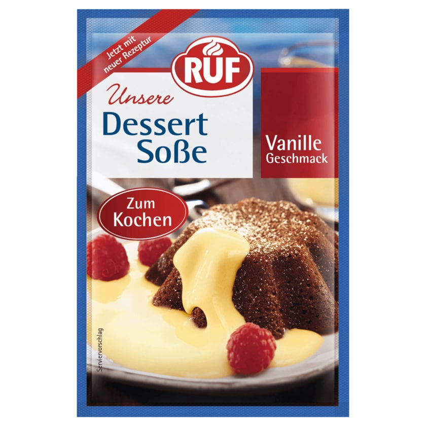Ruf Dessertsauce Vanille 3x18,5g