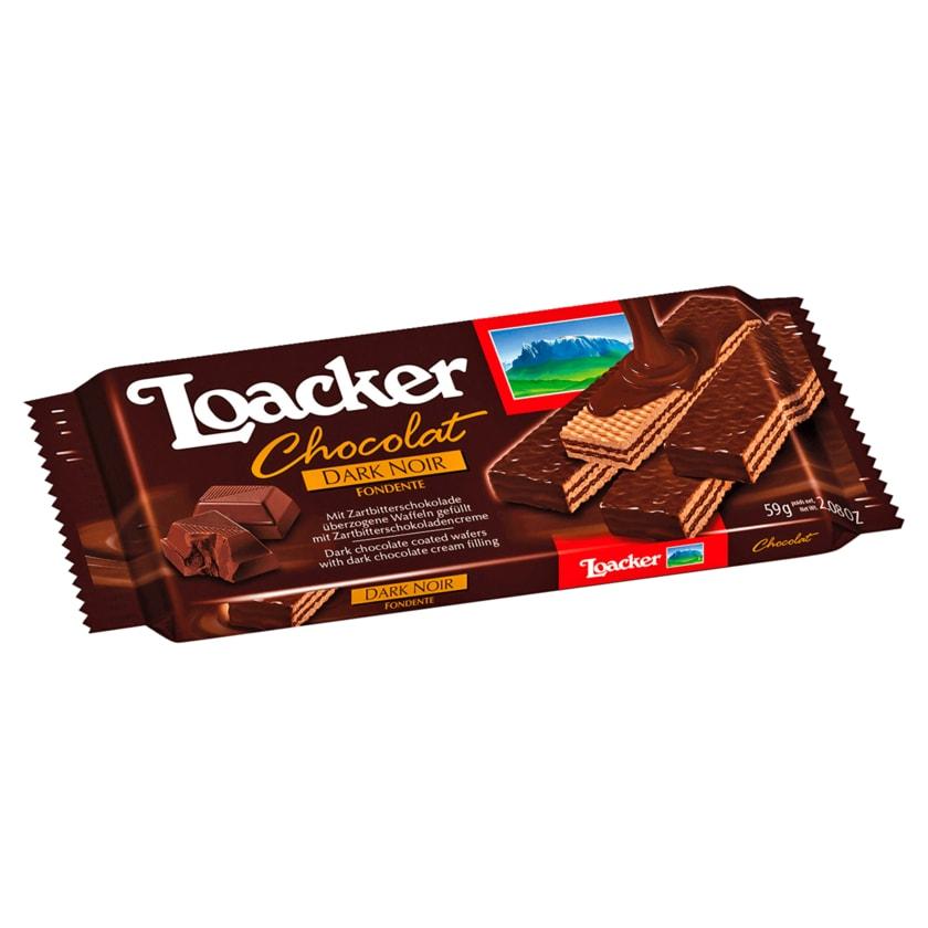 Loacker Chocolat Dark Noir Fondente 59g