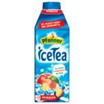 Pfanner Ice Tea Pfirsich 30% weniger Zucker 0,75l