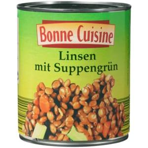 Bonne Cuisine Linsen mit Suppengrün 530g