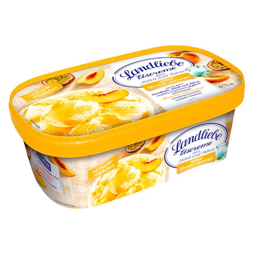 Landliebe Eiscreme Joghurt-Pfirsich-Maracuja 675ml