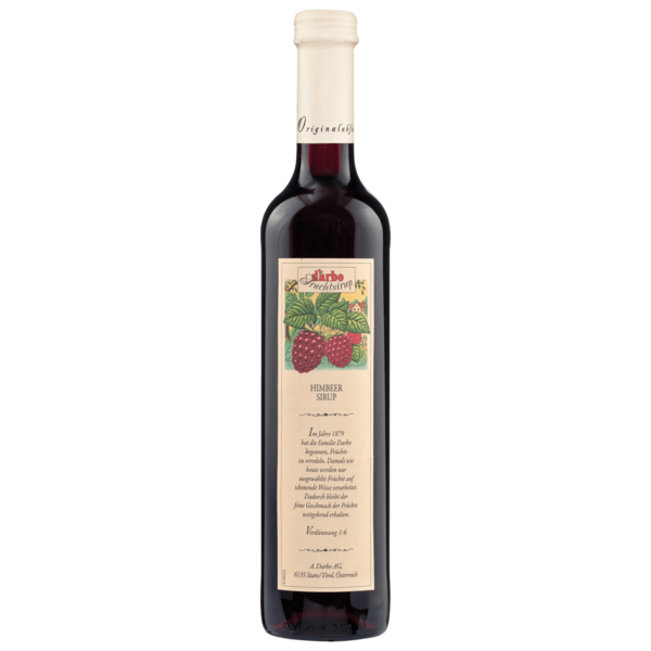 D'arbo Himbeer-Sirup 0,5l