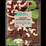 REWE Bio Cashew Cranberry Mix 250g