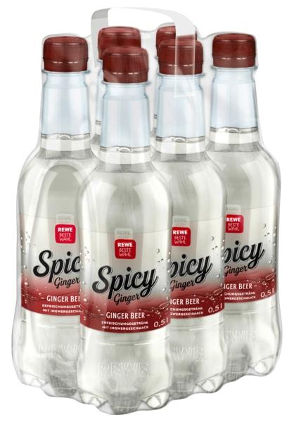 REWE Beste Wahl Spicy Ginger 0,5l