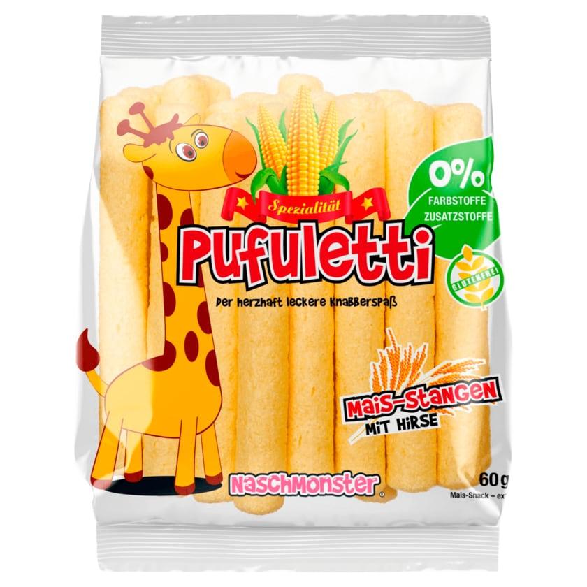 Pufuletti -Maisstangen mit Hirse 10x60 g