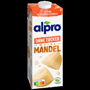 Alpro Mandel-Drink Ungeröstet & ungesüßt vegan 1l