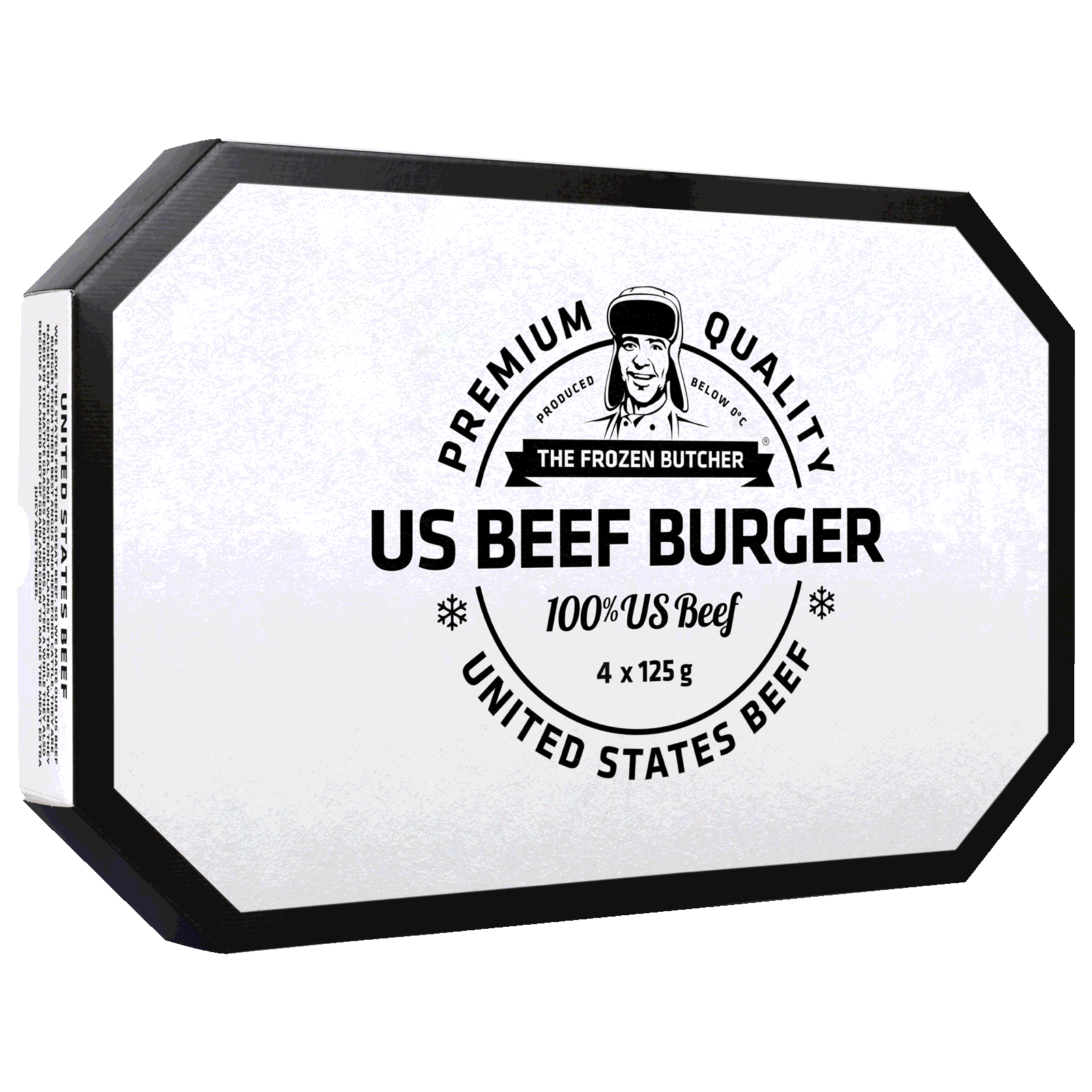 The Frozen Butcher US Beef Burger 4x125g