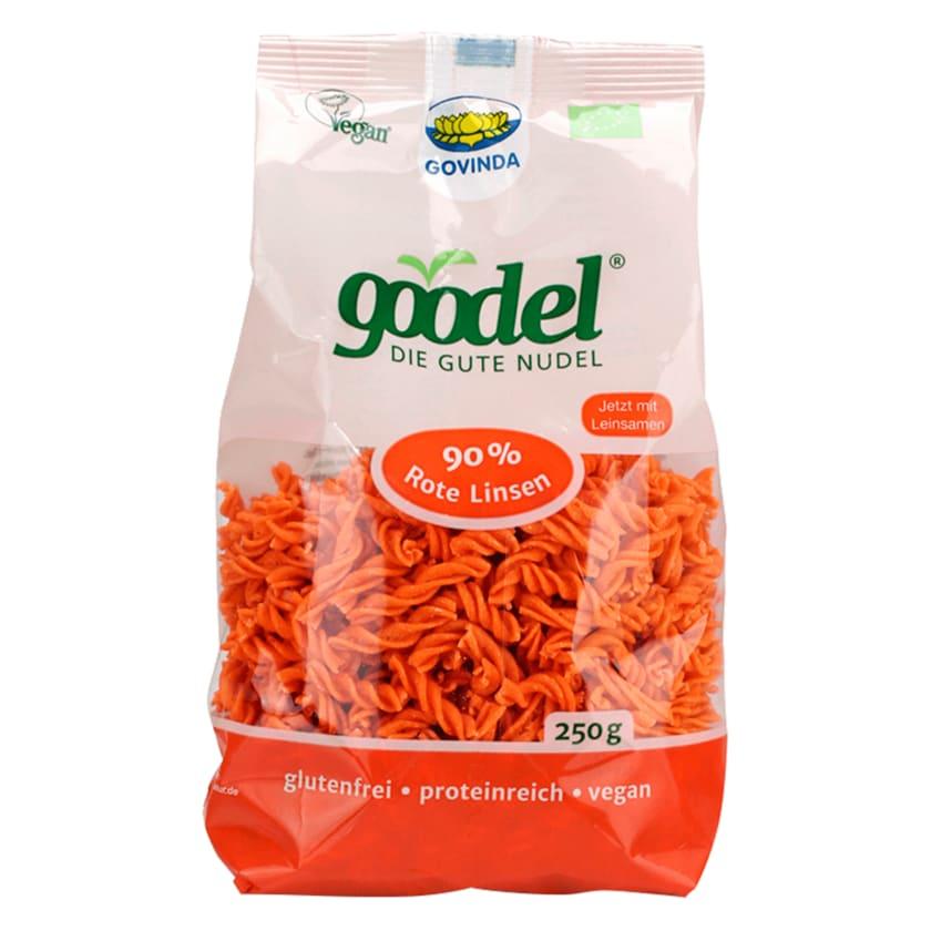 Govinda Goodel Bio Rote Linsen Nudeln 250g