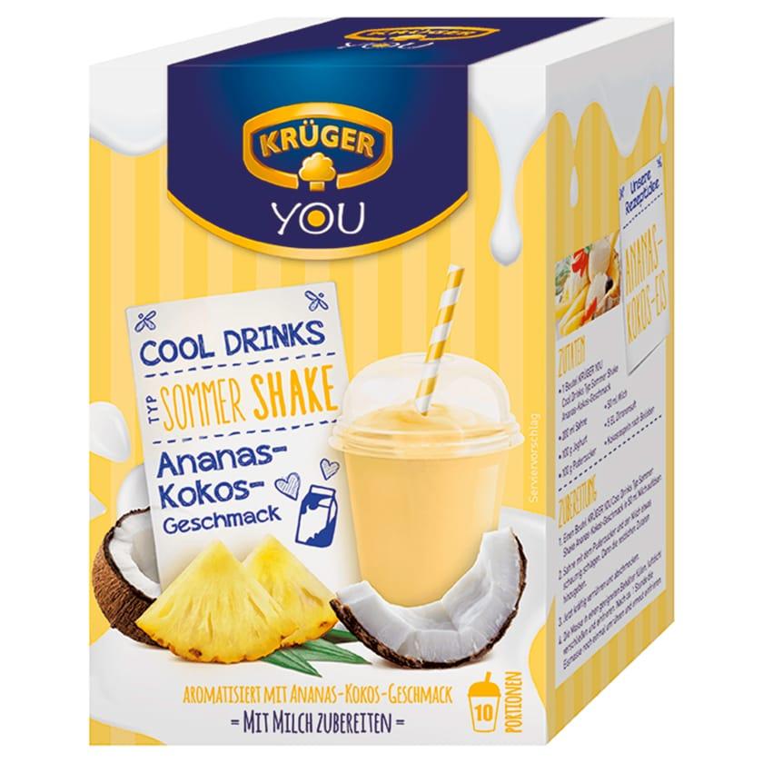 Krüger Sommer Shake Ananas-Kokos 200g