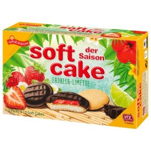 Griesson Soft Cake Erdbeer-Limette 300g