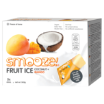 Smooze Vegan Fruit Ice Coconut & Mango 345g