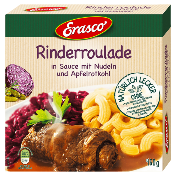 Erasco Rinderroulade 460g