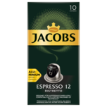 Jacobs Espresso 12 Ristretto 52g, 10 Kapseln