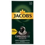 Jacobs Kaffeekapseln Espresso 12 Ristretto 52g, 10 Nespresso kompatible Kapseln