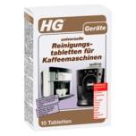 HG Geräte universelle Reinigungstabletten für Kaffeemaschinen 1 Stück