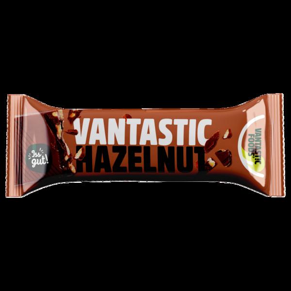Vantastic foods Vegan Hero Bio Haselnuss Riegel 40g