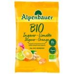 Alpenbauer Bio-Bonbons Ingwer Limette Orange 90g