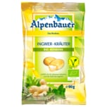 Alpenbauer Bio Ingwer Kräuter Bonbons 90g