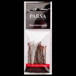 Parsa Beauty Haarklemmen gewellt 5cm braun 25 Stück