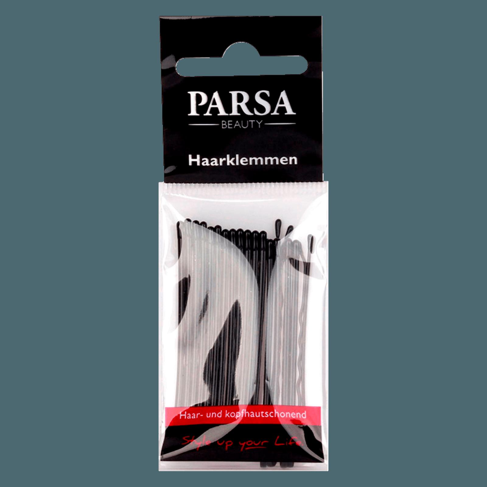 Parsa Beauty Haarklemmen gewellt & schwarz