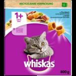 Whiskas Katzenfutter Trocken 1+ mit Thunfisch 800g