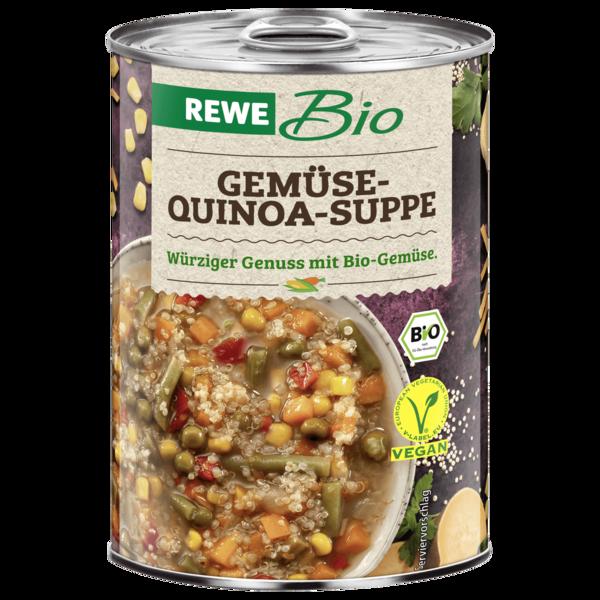 REWE Bio Gemüsesuppe mit Quinoa 400ml