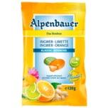 Alpenbauer Ingwer Limette Orange Klassik-Bonbons 120g