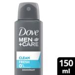 Dove Deo Men+Care Clean Fresh 150ml