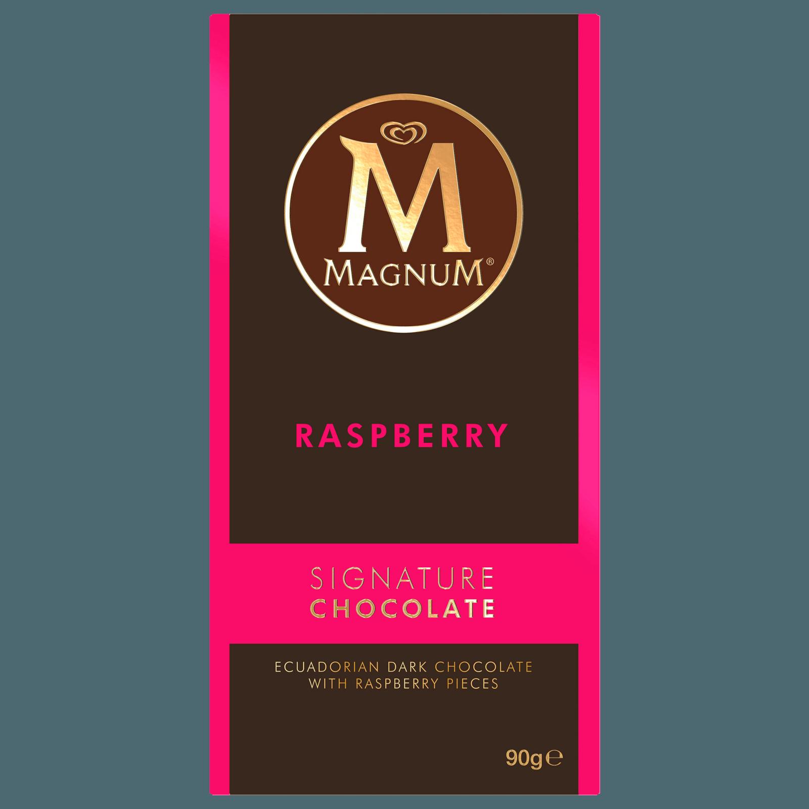 Magnum Raspberry Signature Chocolate 90g