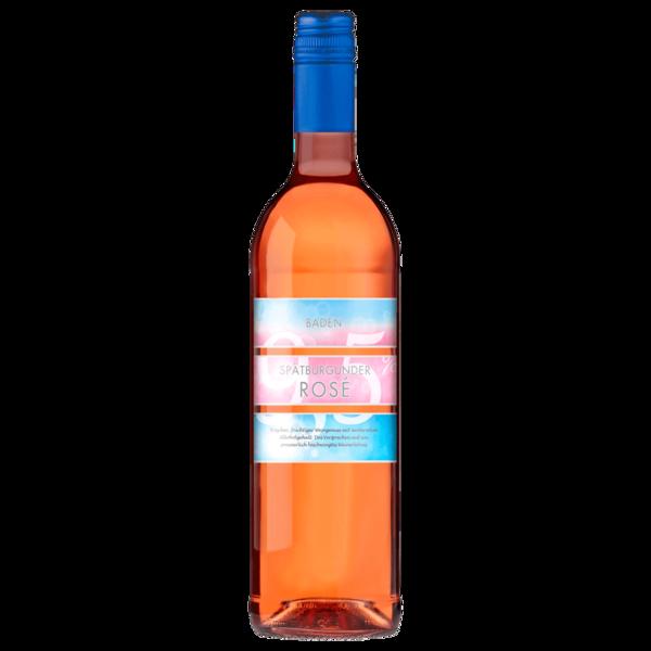 Baden Spätburgunder Rosé QBA halbtrocken 0,75l