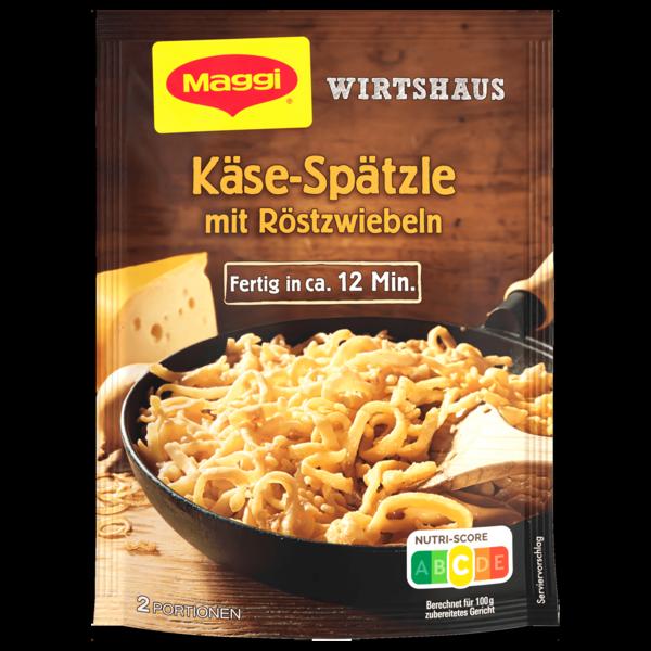 Maggi Wirtshaus Käse-Spätzle mit Röstzwiebeln 119g