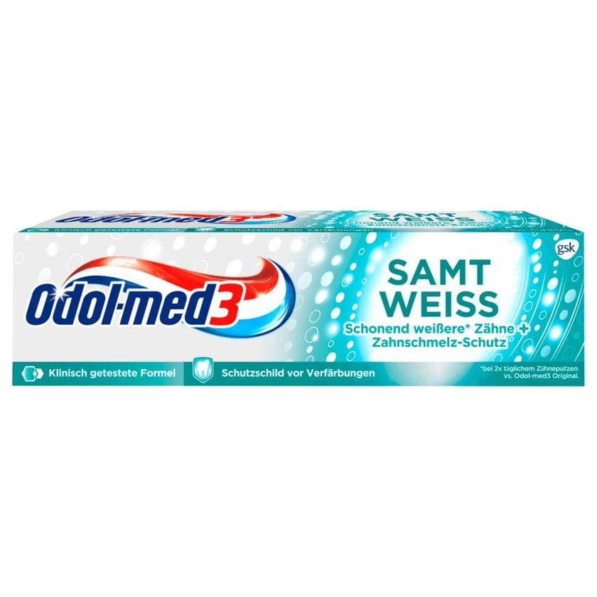 Odol-med3 Zahncreme Samtweiss 75ml