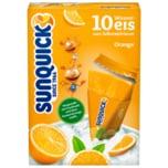 Sunquick Wassereis Orange 10 Stück