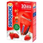 Sunquick Wassereis Erdbeere 10x65g