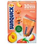 Sunquick Wassereis zum Selbsteinfrieren Pfirsich 10x65g