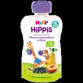 Hipp Hippis Quetschbeutel Pflaume-Johannisbeere in Birne 100g