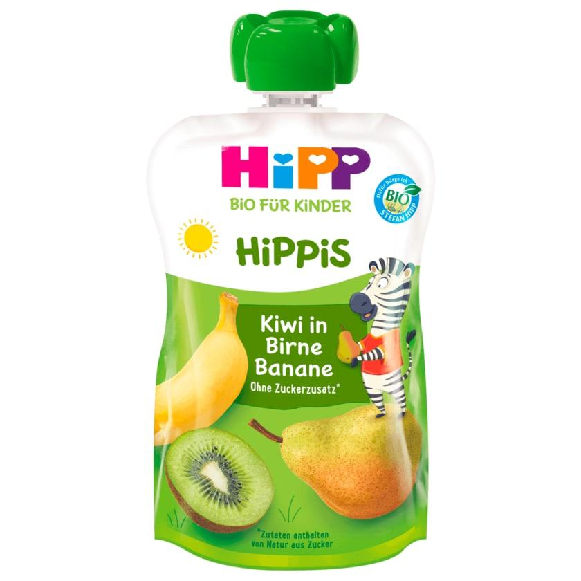 Hipp Hippis Charlie Zebra Bio Kiwi in Birne-Banane 100g