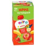 Hipp Hippis Ferdi Frosch Bio Erdbeer-Banane in Apfel 4x100g