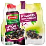 Granini Trinkgenuss Schwarze Johannisbeere 6x1l