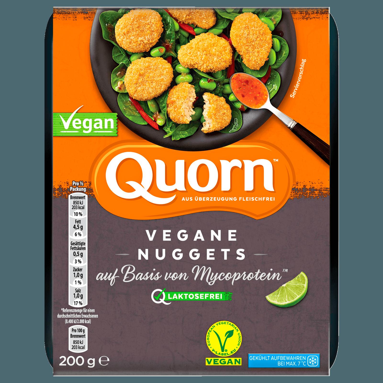 Quorn Vegane Nuggets 200g Bei Rewe Online Bestellen