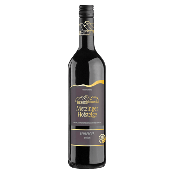 Metzinger Hofsteige Rotwein Lemberger Qualitätswein trocken 0,75l